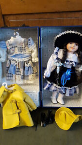 Fantastic Doll in Case with 3 outfits from the Heritage Mint