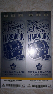 Mapleleafs vs Panthers