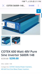 DC to AC Power Inverters