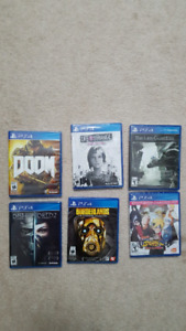 PS4 GAMES FOR SALE LOT!!!