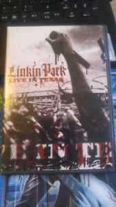 Live concert DVDs. NIN Linkin park Billy Talent. RATM