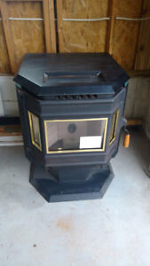 New Whitfield Pellet Stove