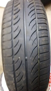 Two all season tires for sale for$60.00