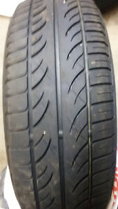 Two all season tires for sale for$50.00