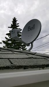 New Bell Satellite Dish