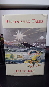Tolkien: Lord of the Rings - Brand New Book - Unfinished Tales