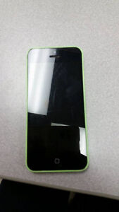 8GB green iphone 5C for sale