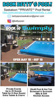 Book A Private Pool @ Betty's Pool In Saskatoon