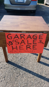 Garage & Food SALE