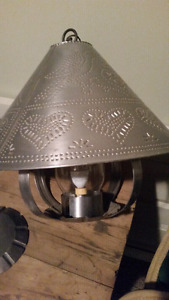 Country Decor Tin Ceiling Light