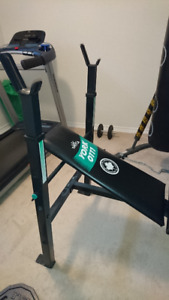 Weightlifting Bench + Weights