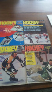 Hockey illustrated Magazines 1972