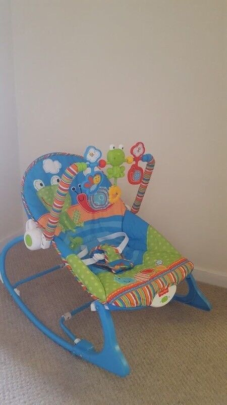 Fisher Price Rainforest Bouncer with Music