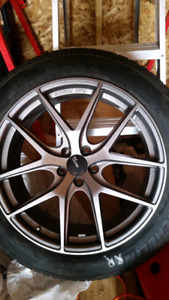 """For Sale 20"""" rims and tires $1200"""