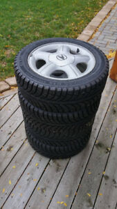 Winter Tires and Rims 195/55 R15 89T