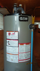 1 to 3yr old water heaters and Furnaces