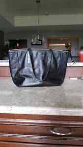 Fossil Black Leather Purse