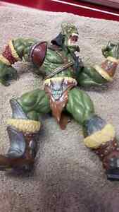 World Of Warcraft ' Orc Grunt ' Series 1 Blizzard 1998 Figure