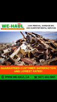 Junk removal and demolition  —- fast and friendly - 6474445865