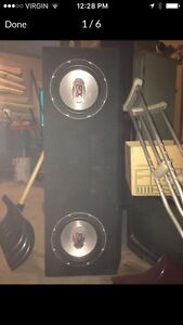 Mtx audio subs and box
