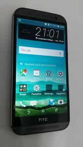 HTC M8 32Gb  débloqué en parfaite condition
