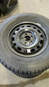 WINTERFORCE TIRES ON RIMS 235/70R16