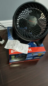 Fan, 3 velocities and energy saver