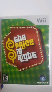 The Price is Right Wii Game.