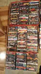 DVDs $1.50 each or 100 for $100 (Blu-Rays in other ads).