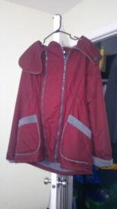 Manteau de grossese et de portage