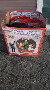 Blow up snow globe Christmas decoration