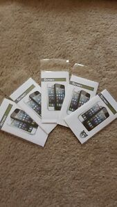 (SALE) 5x Brand new iPhone 5 5s screen protector film clear