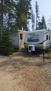 Beautiful Candle Lake trailer and fully developed lot!