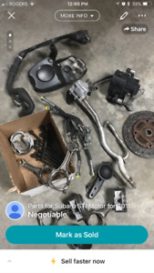 Parts from 2011 STI motor