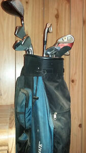 Woman's Left-Handed Golf Club Set w/ Fully Stocked Golf Bag