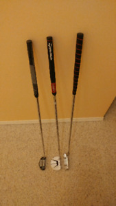 3 putters for sale