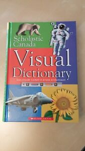 Children's dictionary (8 English 3 French) excellent condition