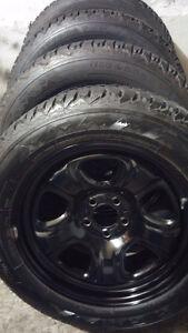 4 firestone winter 225 60 18 on Guniune Chrysler 300 TPMS
