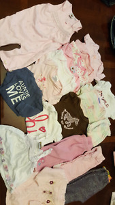 Girls size 3 months and 3-6 months clothing lot