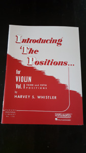 Introducing the Positions for Violin 3rd and 5th Positions - NEW