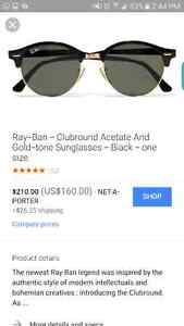 Ray ban BRAND NEW clubround acetate and gold  London Ontario image 6