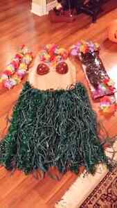 Hawaiian Halloween costume size M to L Kitchener / Waterloo Kitchener Area image 1