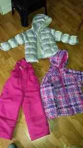 Girls Winter Coats and Snowpants