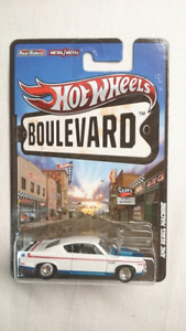 HOT WHEELS BOULEVARD AMC REBEL MACHINE CHRYSLER DIE CAST MINT