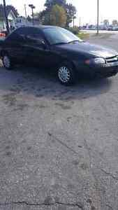 2003 chevy cavalier low kms runs and drives great.