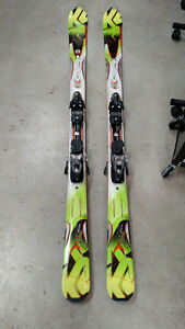 New K2 Rictor All Mountain skis with bindings. 174cm.