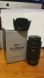 Canon EF S 55-250mm f/4-5.6 IS STM