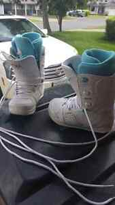 Snowboarding Boots size 6 womens