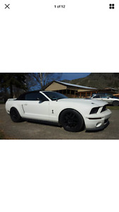 2008 Ford Mustang GT 500 Convertible