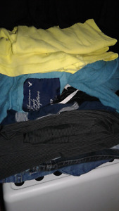 Tons of womens clothing size extra small. Some medium sizes